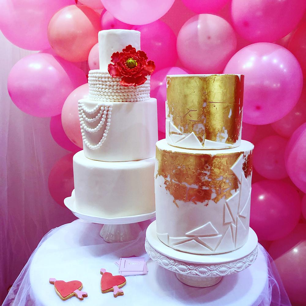 Bad Girls Good Cakes - Gâteau Gold personnalisé